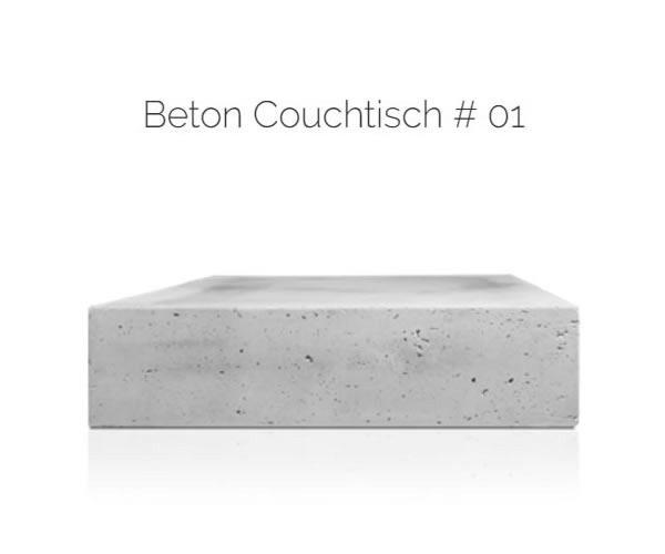 Beton Couchtische |in|für|aus |90547| Stein aus  Stein