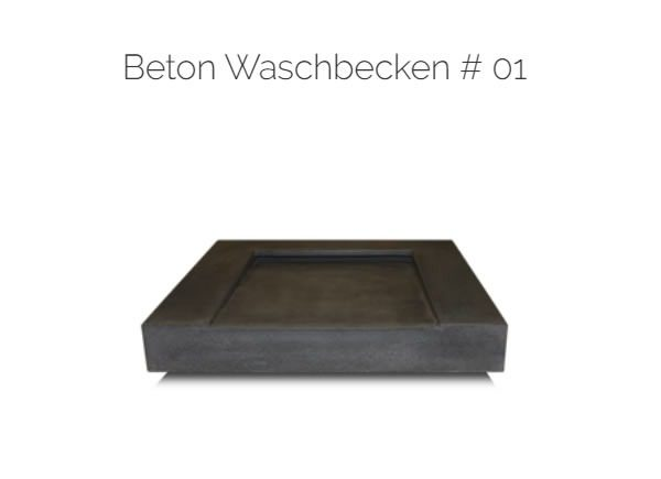 Beton Waschtische |in|für|aus |49477| Ibbenbüren