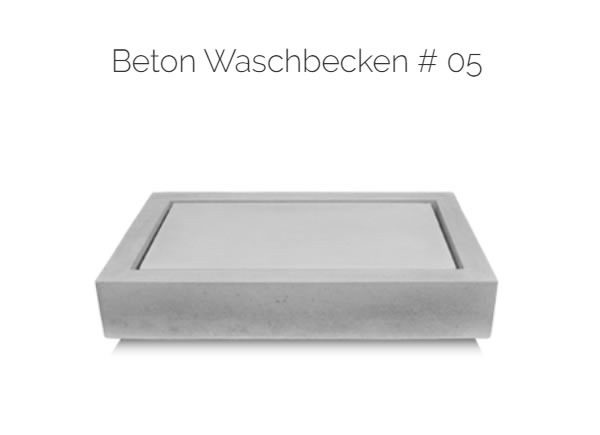 Waschbecken Beton |in|für|aus |49477| Ibbenbüren in  Ibbenbüren