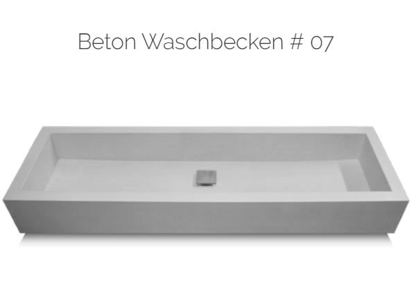 Waschbecken aus betonn |in|für|aus |57482| Wenden